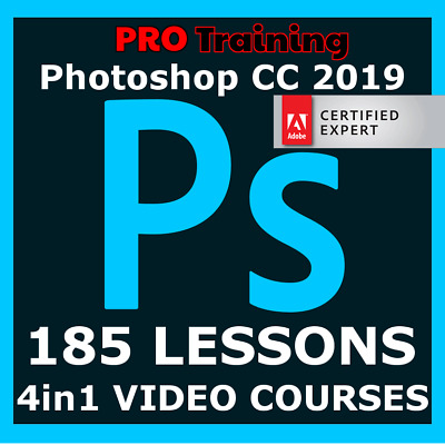 Video Courses Adobe Photoshop CC 2019 Training Video Lessons PRO Tutorials