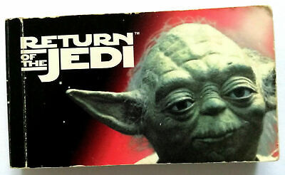 "DAUMENKiNO "" STAR WARS "" RETURN of the JEDI FLiP BooK Buch SAMMLER extrem selten"