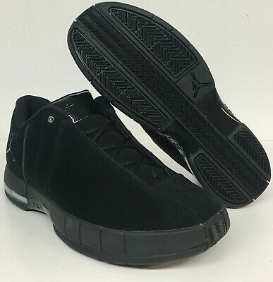 fd2c28547e6b Jordan Team Elite TE 2 Low Mens Size 12 Off Court Black Basketball AO1696  003