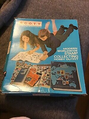 Scott - Modern Worldwide Stamp Collecting Hobby Outfit - Album Only
