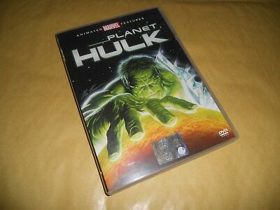 Dvd-Planet Hulk-Animazione-Marvel-Animated Features-2010
