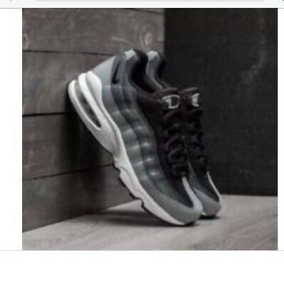 official photos 96d4d 1c112 Nike AIR MAX 95 QS Black Anthracite (GS) 905348 001 Running Shoes UK