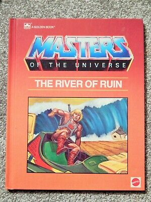 Masters Of The Universe: River Of Ruin Hb Golden Book Mattel Knorr Quinn Hollowa