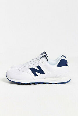 NEW BALANCE 574 Polo Piqué Baskets en Rose & Marine Wl574