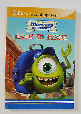 Golden First Chapters ~ Disney Pixar Monsters University ~ Dare to Scare ~ NEW