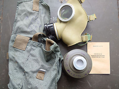 Maschera antigas polacca MC1 gas mask