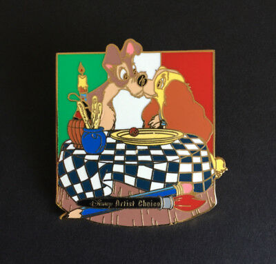 Artist Signed Artist Choice Lady & the Tramp LE 3000 Disney Pin