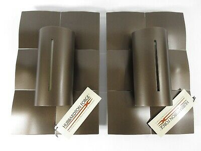 Hubbardton Forge -Pair of Mosaic Wall Sconces -Bronze