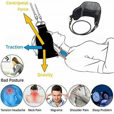 Hammock for Neck Pain Relief Support Massager Cervical Traction Device Stretcher