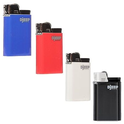 "4 x Djeep ""CLASSIC"" Lighters, New w/ Butane, Free Same Day Express Shipping"