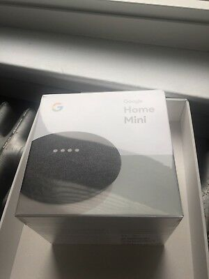 Google Home Mini Powered by Google Assistant Voice Enabled - CHARCOAL New!