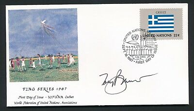 Tony Bennett - Autograph - WFUNA Artist Signed Cover - FDC