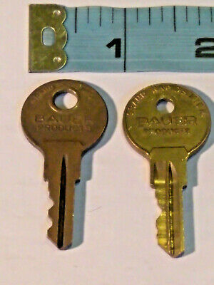 Bauer Products Keys Set Of 2