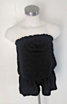 2f978d125c8b6e women old navy intimates sleepwear romper strapless color black size xs