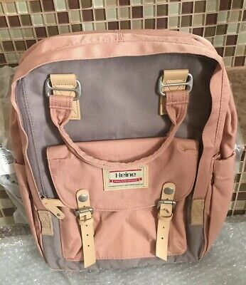 Heine Nappy Bag Diaper Backpack Multifunction Mummy Bag Large Capacity. NEW