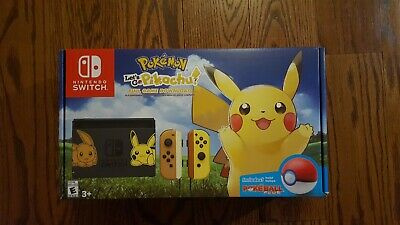 New Nintendo Switch Pikachu Eevee Edition With Pokemon Let S Go