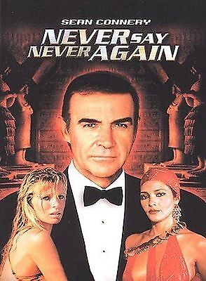 Never Say Never Again (DVD, 2000) BRAND NEW