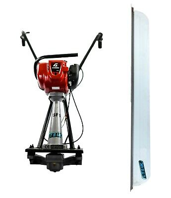 SURFACE FINISHING SCREED EASY SCREED HONDA GX35  CONCRETE SCREED and 6ft BLADE