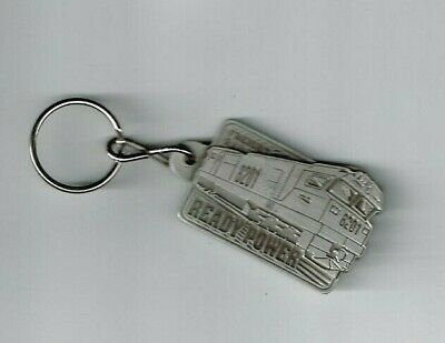 Freight Rail 8201 Double Sided Solid Metal Key Ring