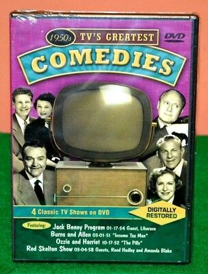 1950s TV's Greatest comedies DVD 4 Classic Shows Brand New