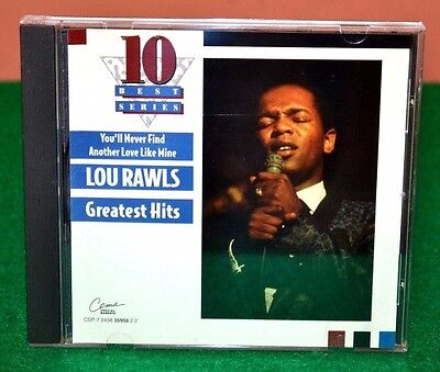 Greatest Hits [Cema] by Lou Rawls (CD, Oct-1995, Capitol) LN