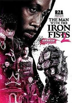 The Man With The Iron Fists 2 (DVd 2015 New Unrated and Rated Action