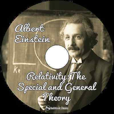 Relativity: The Special & General Theory - MP3CD Audiobook paper sleeve