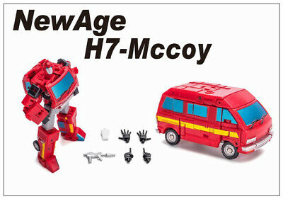 Pre-order Transformers  Newage NA H7 Mccoy mini Ironhide Action figure toy
