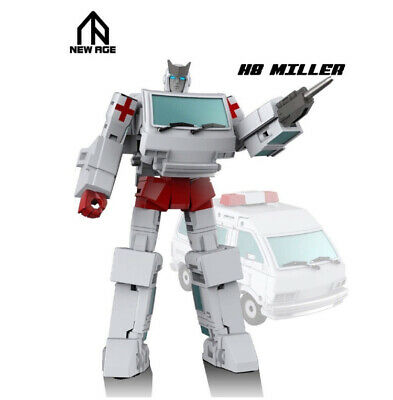 Pre-order Transformers  Newage NA H8 MILLER mini Ratchet Action figure toy