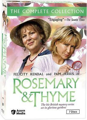 Rosemary & Thyme - The Complete Collection (DVD, 2011, 7-Disc Set) Sealed NEW