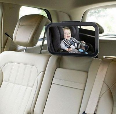 Adjustable Wide Car Rear Seat View Mirror Baby/Child Seat Car Safety Mirror