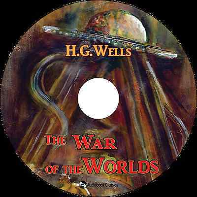 The War of the Worlds - Unabridged MP3 CD Audiobook in paper sleeve