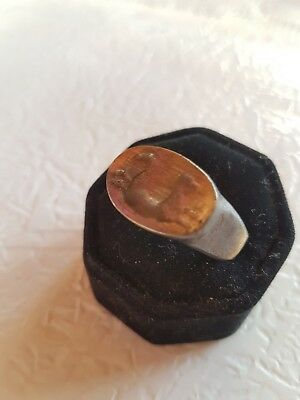 Ancient Bronze  Ring-Vintage-Antique ROMAN-BRONZE-RARE