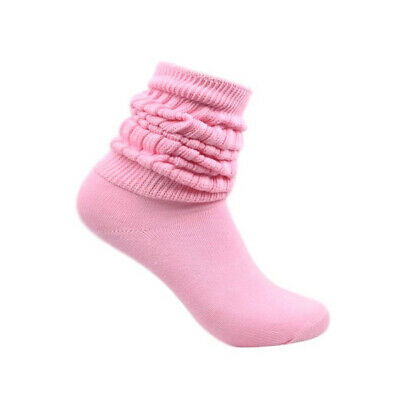 45ddb49f8f6 Women s Heavy Cotton Workout Exercise Slouch Socks Size 9-11 Aerobic Credos