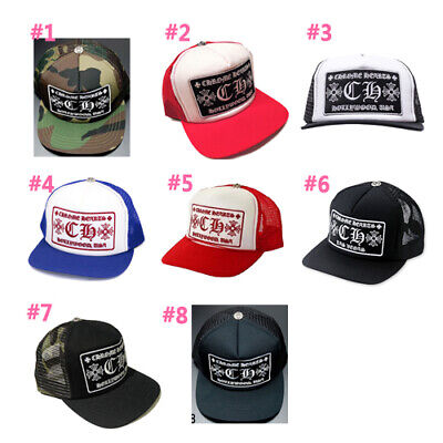 f86a2ac0e AUTHENTIC [CHROME HEARTS] Mesh Trucker Cap with CH Patch (*Choose one)