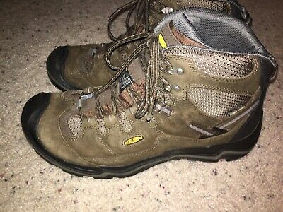 ff1f1988d0f KEEN MENS VOYAGEUR Mid Waterproof Leather Hiking Trail Boots Size US ...