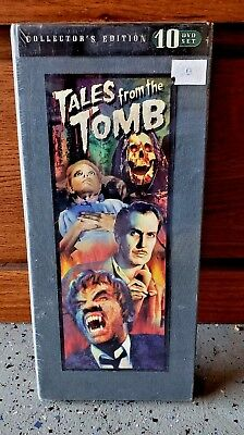 New Tales from the Tomb (DVD, 2009, 10-Disc Set) Collector's Edition