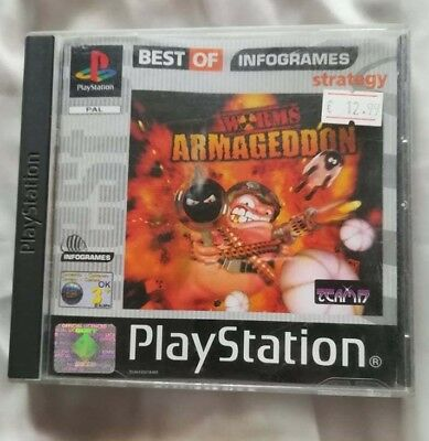 worms armageddon ps1 rom