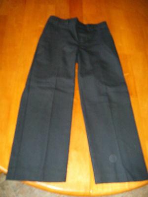 Marks And Spencer - Boys Navy School Trousers - Age 6
