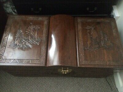 Trunk Box Camphor Trunk Vintage Large Trunk Ornate collection only