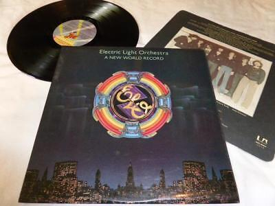 Electric Light Orchestra  - A New World Record , Jet 1976 , Ex/M- ,Lp