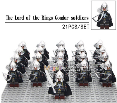 LEGO LOTR Minifigures Lot  7 Figures Will Combine Shipping