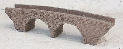 Z Gauge Z Scale Double Arch Stone Bridge Laser Cut And Engraved Pro Painted