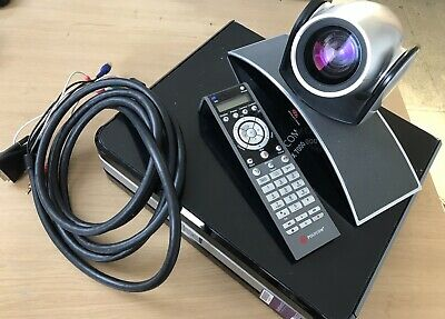 POLYCOM HDX 7000 Conference System Base Unit, EagleEye Camera, Remote and Lead