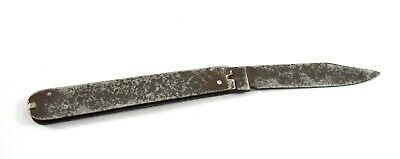 Collectible Indian Old Rustic Knife – Vintage Kitchen Folding Knife. G25-301 AU