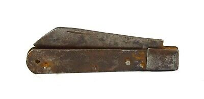 Vintage Collectible Iron Blade Fitted Indian Foldable Pocket Knife. G25-324 AU
