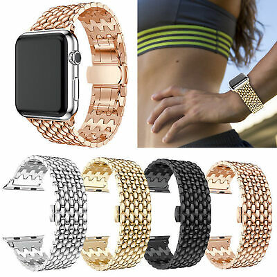 38mm 42mm para Apple Watch iWatch Series 3/2/1 Brazalete con correa de metal