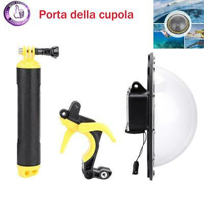 PC PMMA Custodia impermeabile per custodia dome per videocamera GoPro Hero 5/6/7