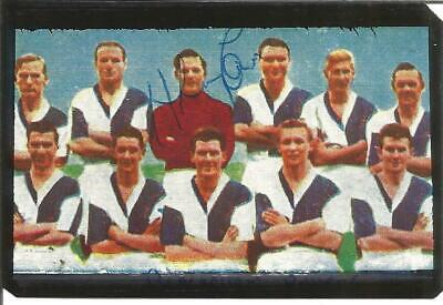 Football Autograph Fred Else Signed Blackburn Rovers Soccer Bubblegum Card F425