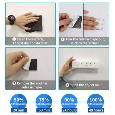 50Pc Super Two-Sided Strong Adhesive Foam Tape Pad Mounting Rounds Rectangle Set